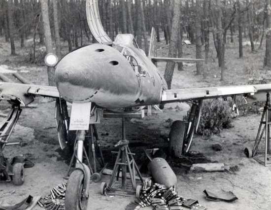 Captured Me 262