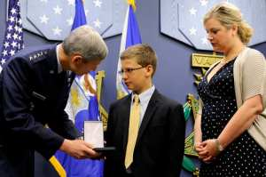 Francis Gary Powers Award Silver Star