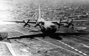 KC-130F Carrier Testing