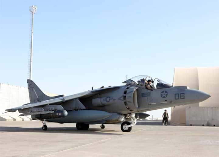 VMA-211 Harrier sortie
