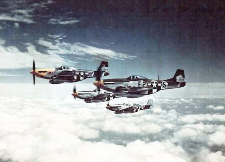 P-51 Mustangs