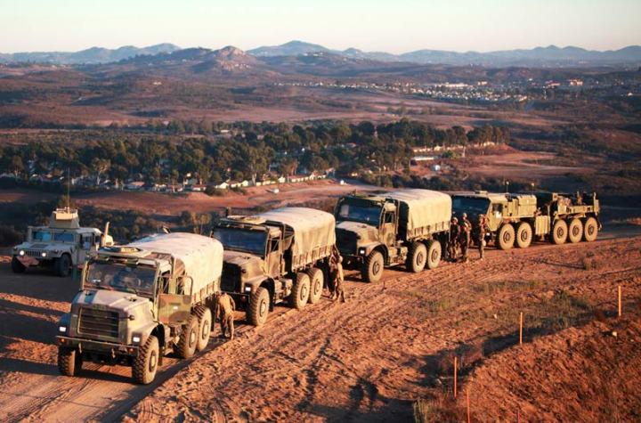 U.S. Marine Corps Trucks