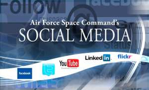 Air Force Space Command Social Media
