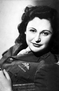 A studio portrait of Nancy Wake who was a highly decorated member of the Special Operation Executive during World War II. Australian War Memorial photo