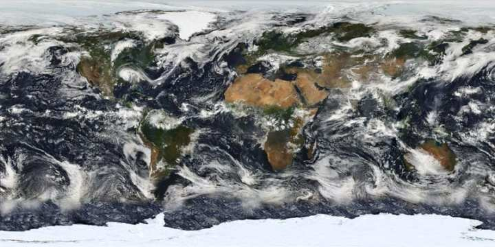 MODIS Map of Earth