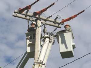 Members of the 249th Engineer Battalion (Prime Power) work on electrical lines at the U.S. Military Academy at West Point, August 2011. Delta Company 249th Engineer Battalion (Prime Power) photo