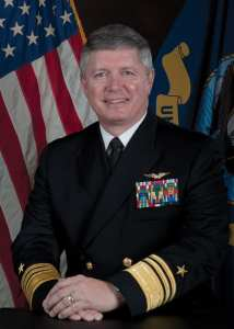 U.S. Navy Commander, 3rd Fleet, Vice Adm. Gerald R. Beaman.