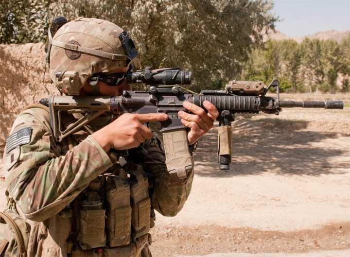 individual carbine program