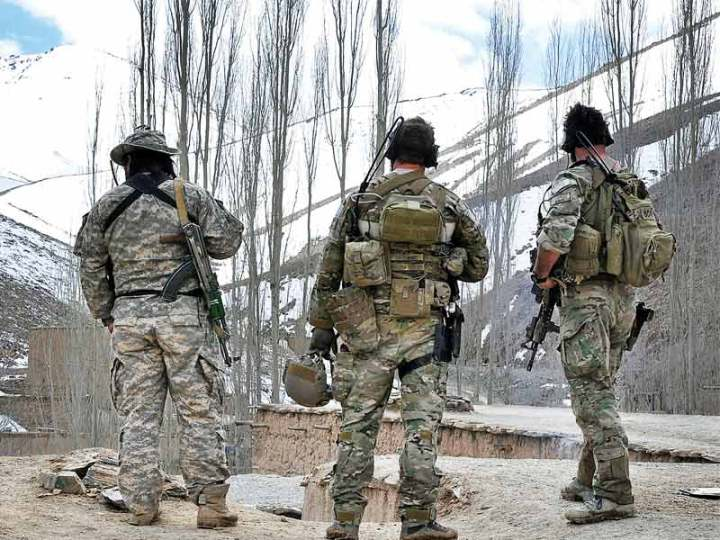 U.S. Special forces afghanistan