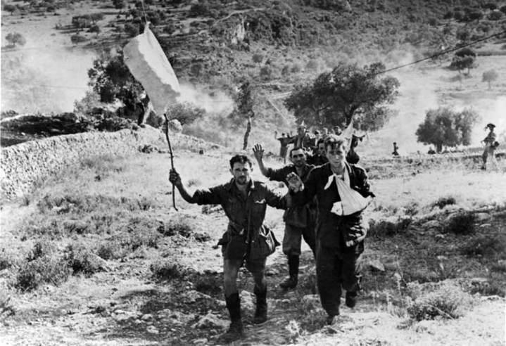 Italian Soldiers Surrender