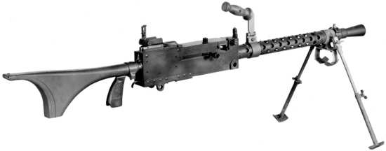 Browning M1919A6 LMG