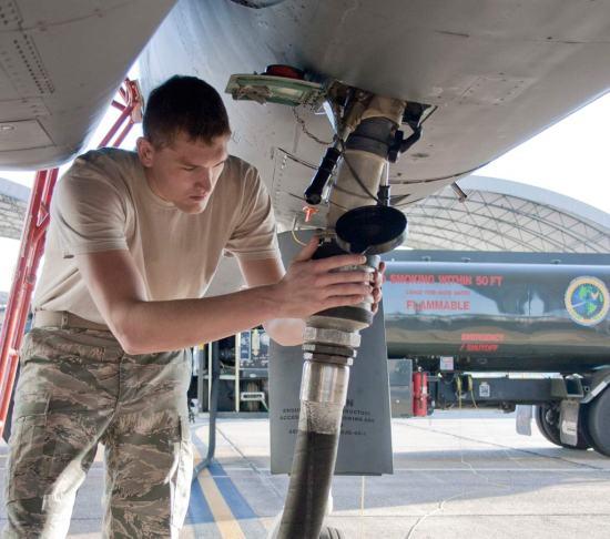 F-15 Eagle alternative fuels