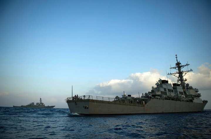 U.S. Navy Eastern Mediterranean Near Syria