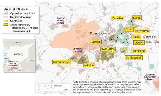 Syria Damascus 21 August Chemical Attacks