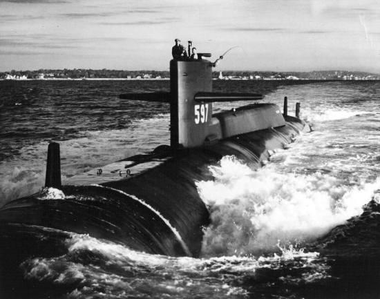 USS Tullibee (SSN 597)
