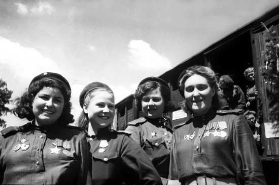 Red Army Women Snipers