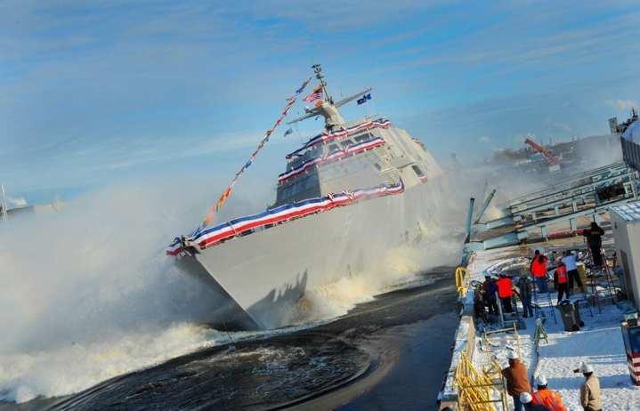 Milwaukee (LCS 5) Launch