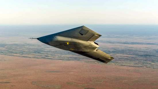 First Flight of Taranis UCAV