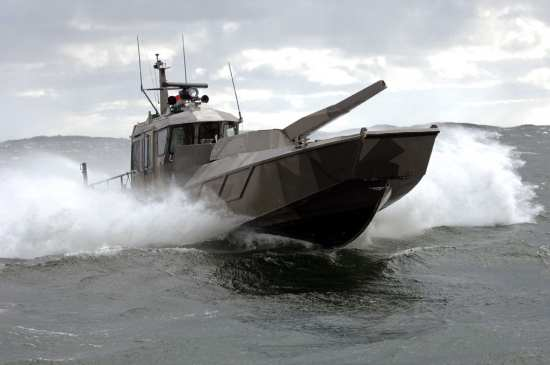 Landing Craft Mounted Nemo 120 mm Turreted Mortar System