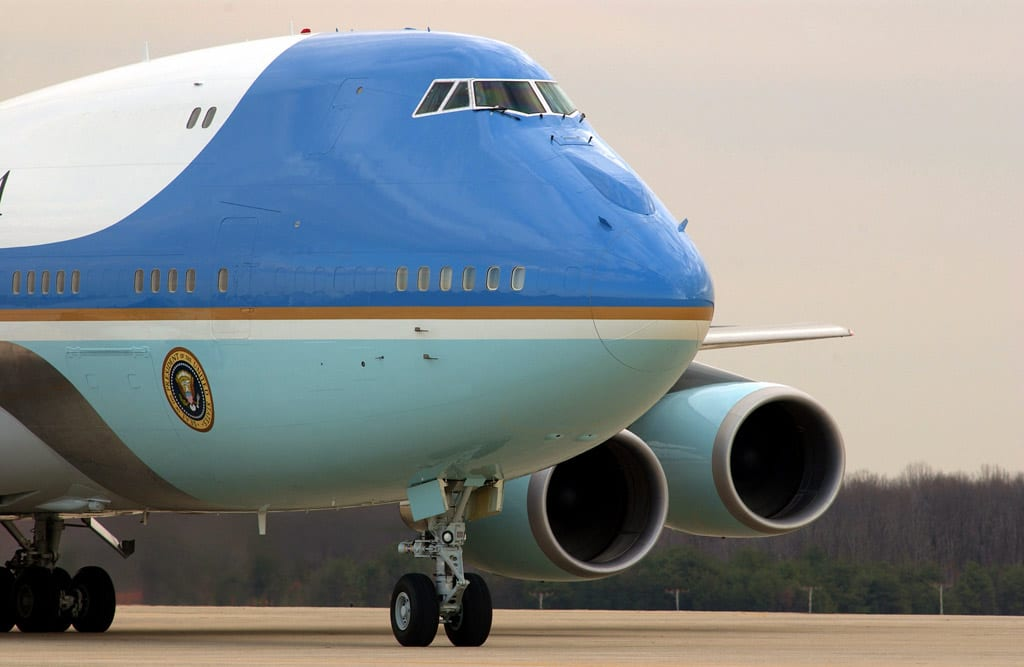 Inside Tour Of Air Force One