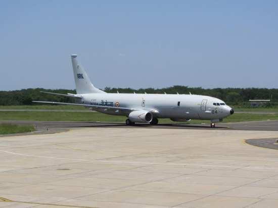 P-8I arrives Rajali