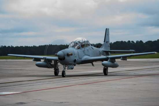 A-29 arrives at Moody AFB