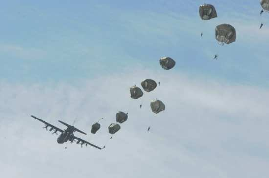 82nd Airborne Paratroopers Jump from a C-130 | Video