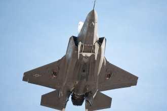 F-35B-flyby