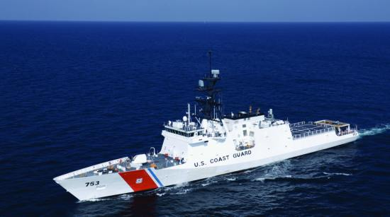 The CGC Hamilton, the fourth Legend-class national security cutter in the service's fleet, performs sea trials in the Gulf of Mexico Aug. 13, 2014. As important as new cutters are the people who crew them. U.S. Coast Guard photo by Petty Officer 3rd Class Carlos Vega