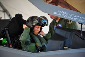 First female F-35 pilot