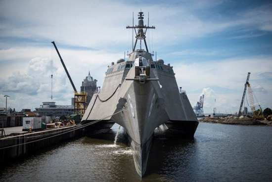 LCS 6 bow