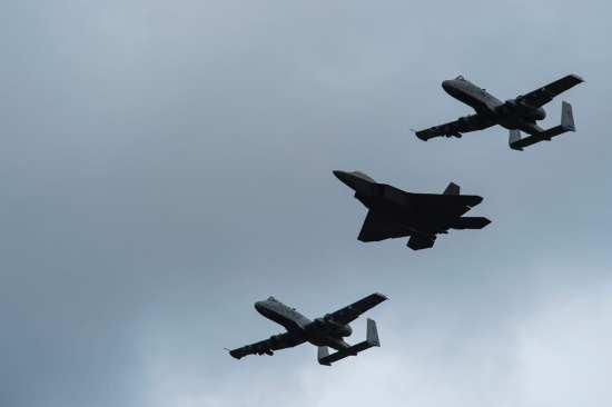 A-10s and F-22s Together | Video
