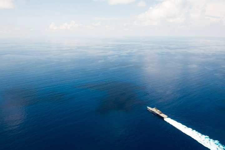 Little ship big ocean