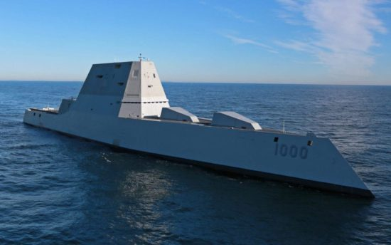 Video: DDG 1000 Zumwalt Underway at Sea