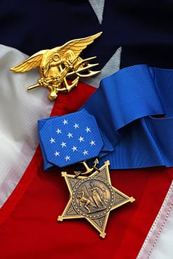 Navy Medal of Honor and Trident