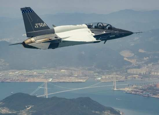 Lockheed Martin T-50A First Flight | Video