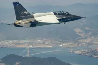 T-50A first flight 2