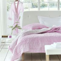 Designers Guild Chenevard Peony and Soft Pink Quilts and Shams