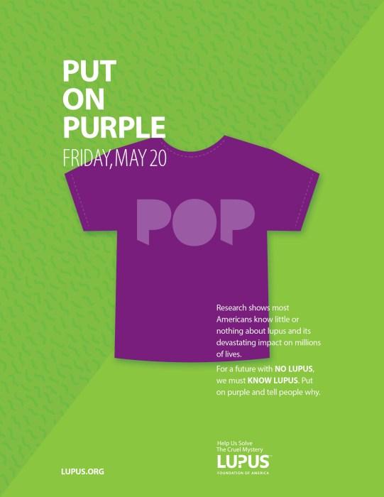 put on purple