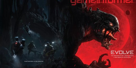 evolve gameinformer cover
