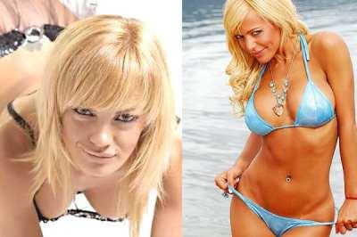 Famosas al desnudo, mujeres y novias de futbolistas