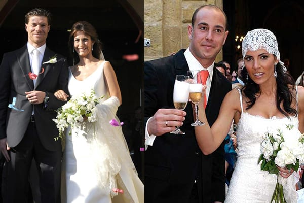 novias 1 Famosas al desnudo, mujeres y novias de futbolistas