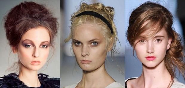 despeinado Peinados que se llevarán esta Primavera Verano 2012