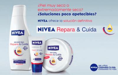 ¿Conoces Repara y Cuida de Nivea?