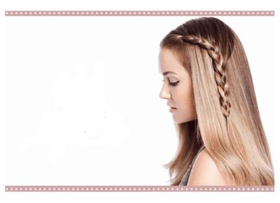 Cómo hacerte una trenza con el pelo suelto (I)