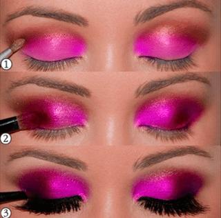 smokeyrosa Smokey Eyes de colores para un look ahumado perfecto