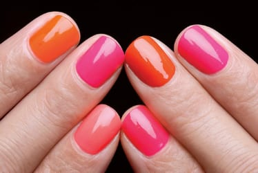 Este verano lucimos uñas de colores