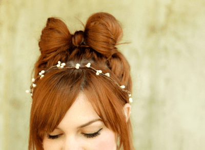 5 peinados originales para estas Navidades