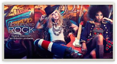 Boulevard Rock, la primavera de Kiko Make Up Milano