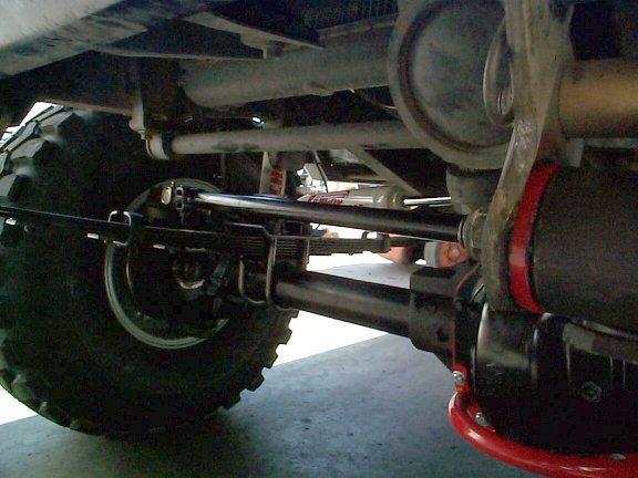 Spring Over Axle (SOA) Conversion